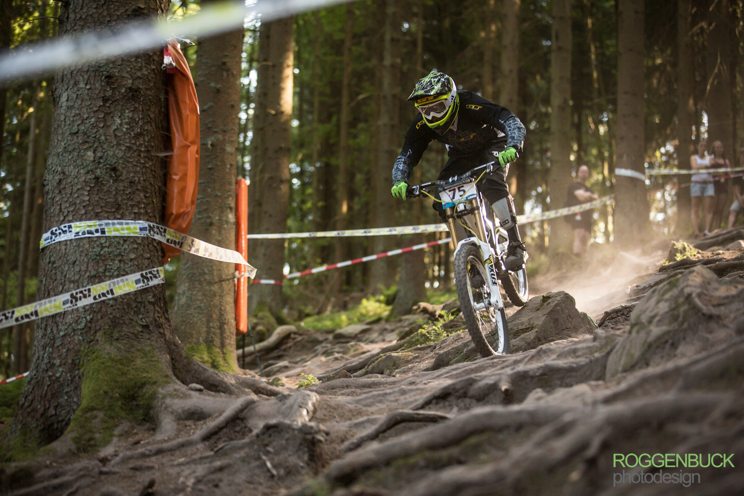 Rene Schmidt Deutsche Meisterschaft Downhill Bad Wildbad 2013